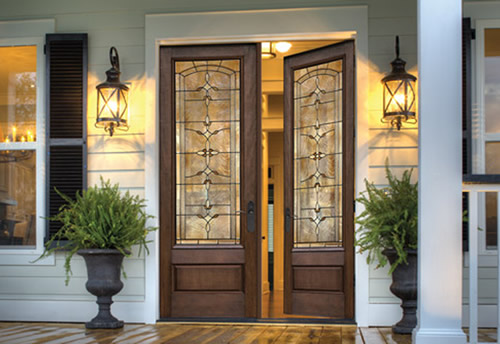 Doors come to life with Therma-Tru glass. & Therma Tru Doors   Residential Commercial General Contractor ... pezcame.com